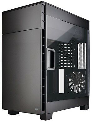 Corsair Carbide Clear 600C Black Full Tower Desktop Computer Case with Window