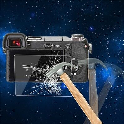 Tempered Glass Camera LCD Screen HD Protector Cover for Sony NEX-6/6L I6
