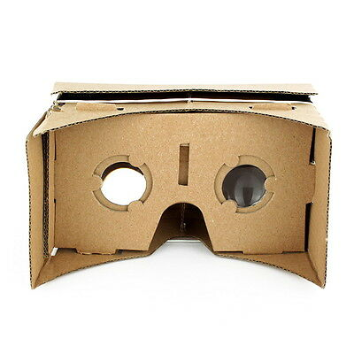 ULTRA CLEAR  Cardboard Valencia Quality 3D VR Virtual Reality Glasses P6
