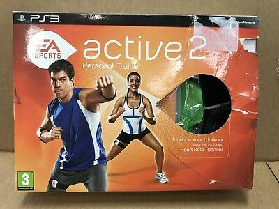 Ps3 Playstation 3 Ea Sports Active 2 Personal Trainer 2010 Bnib Complete Pal