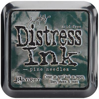 Tim Holtz Distress Ink Pad - PINE NEEDLES - Stamping - Brown