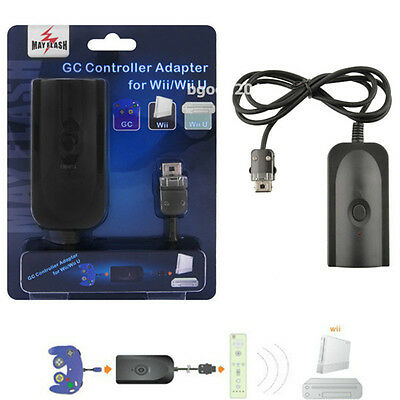 Gamecube Controller GC Gamepad Converter Adapter to for Wii Wii U Mayflash