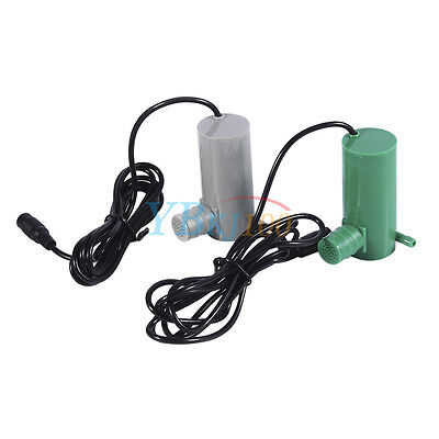 DC 12V Submersible Water Pump 500 L/h Flow For Garden Pond Land Watering Washing