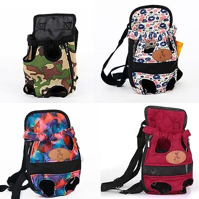 Puppy Pet Cat Dog Pouch Front Bag or Back Pack Backpack Outdoor Warm Carrier