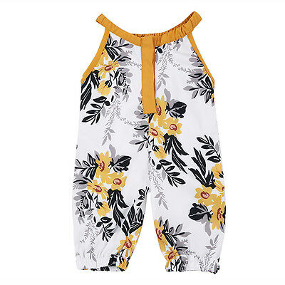 Baby Kids Girl Infant Summer Romper Jumpsuit shivering Bodysuit Clothes Outfits