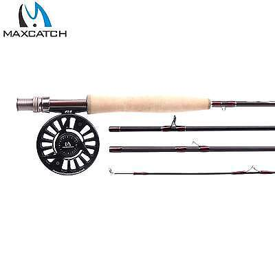 Maxcatch Fly Rod And Reel Mirage Graphite Fly Fishing Rod Combo