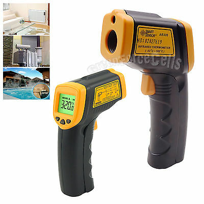 Digital LCD Non Contact Infrared Laser Food Temperature Thermometer Meter Gun