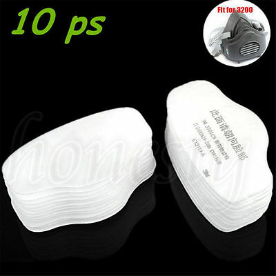 5~100Pcs for 3M 3701CN Filter Cotton For 3200 3700 Gas Respirator Dust Mask N95