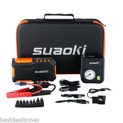 Suaoki 18000mAh Car Vehicle Jump Start Engine Booster Battery Charger Power Bank