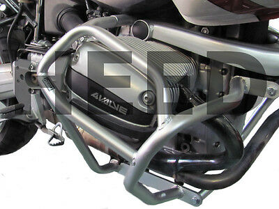 Paramotore Crash Bars HEED BMW R 1100 GS (93-99) - Bunker argento protezione