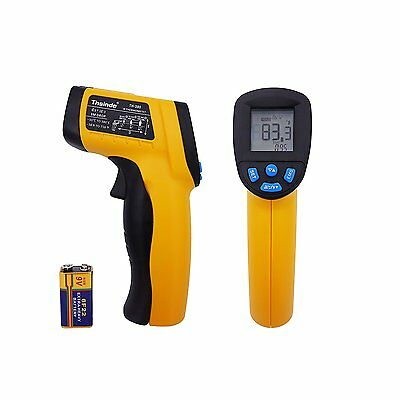 Thsinde laser temperature gun Non-Contact Digital Infrared Thermometer with EMS