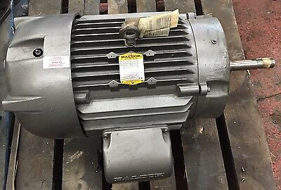 New Baldor 22kW (30HP) Electric Motor 1450RPM 4-Pole 3-Phase Foot & Flange Pump