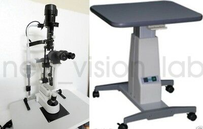 Slit Lamp Haag Streit Type 2 Step With Motorized Table  Free Ship WorldWide