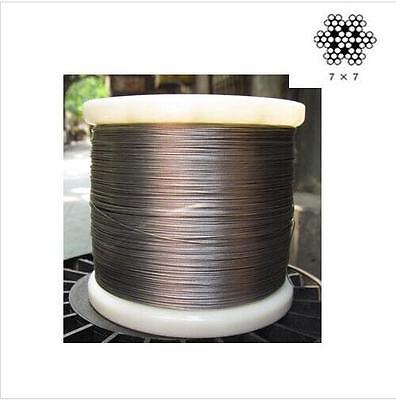 304 Stainless Steel Cable Wire Rope 0.45mm 0.5mm 0.6mm 0.8mm 1.0mm