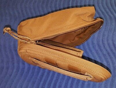 (Lot-10) NEW Genuine USGI Coyote Tan Molle Universal Pouch, Tactical Tailor
