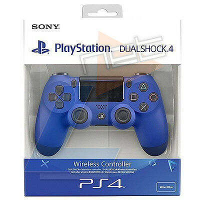 Controller Sony Ps4 Dual Shock 4 Wave Blue V.2 Wireless Gamepad