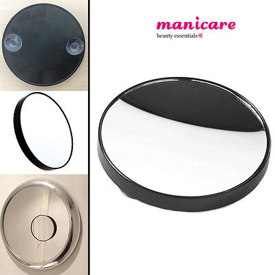 Magnifying 10X Mirror Manicare Pocket Precision Zoom Look Make up + Suction Hook