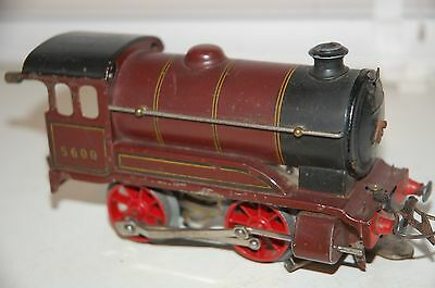 Hornby O Gauge Type 501 Loco In Lms Red  Livery