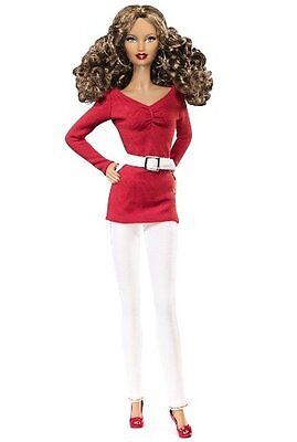 Mattel V9317 BARBIE BASICS (2011) COLLECTION RED Model NO. 02 AFRICAN AMERICAN -