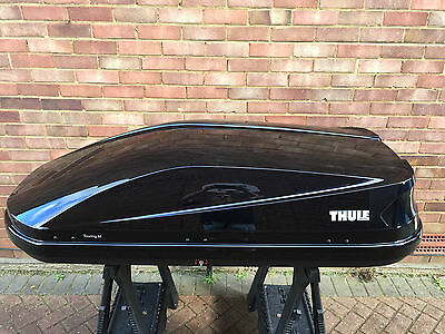 Thule Touring 200/m Black Gloss Roof Box