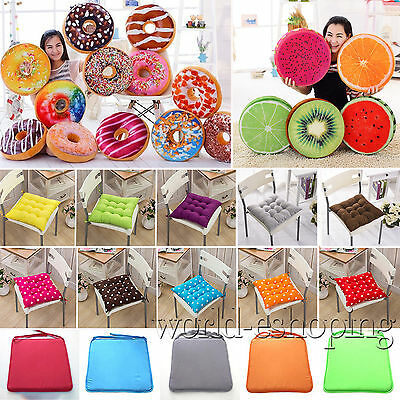 Indoor Home Kitchen Office Sofa Chair Seat Pad Cushion Pillow Garden Patio Cover