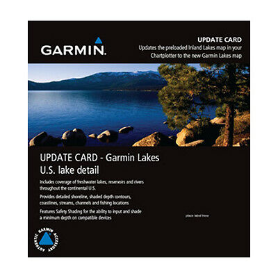 Garmin Lakes Map Update Card microSD/SD card Navigational Software