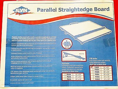 PXB21 Portable Straightedge Drafting Drawing Board 16x21""