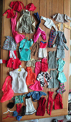 Vintage Lot 45+ Doll Clothes BARBIE TAMMY SKIPPER BRITISH CROWN COLONY HONG KONG