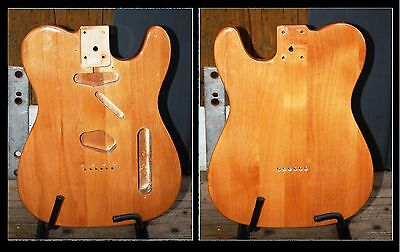 Telecaster Style Alder Body Natural (Solid Wood)
