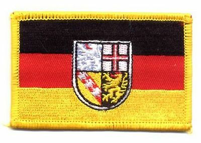 Aufnäher Saarland Patch Flagge Fahne