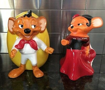 Speedy Gonzales & Carmen Salt & Pepper Shakers Looney Tunes Warner Bros