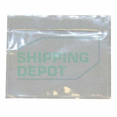 "2000 Clear Packing List Envelopes Pouch 4.5x5.5 2.5mil 4.5""x5.5"" Secure Seal"