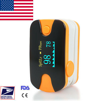 Hand-held  Pulse Oximeter Oximetery blood oxygen Monitor *Alarm US Fast * CE FDA