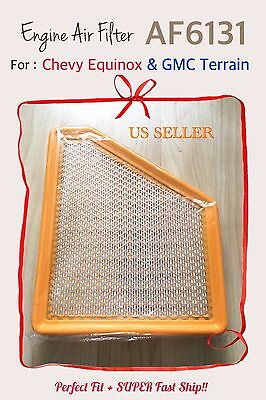 High Quality AIR FILTER AF6131 for 11-16 Chevy Equinox & 11-16 GMC Terrain
