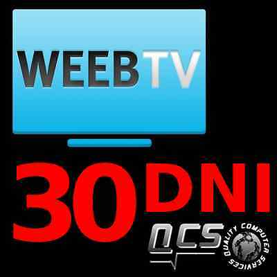 WEEB TV 30 DNI KOD !!! automat !!! weeb.tv !!!