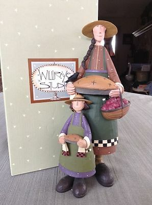 """Mother and Daughter - """"Orchard Rewards"""" - Williraye - 6157 - New in Box"""