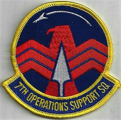 Usaf 7Th Operational Support Sq Patch -                                    Color