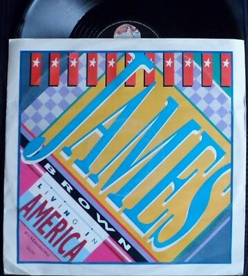 James Brown-Living In America-1985 Ex+-1St