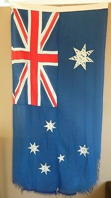 75 Year Old Fully Sewn Australia Flag 2yd (1850mm x 900mm) Southern Cross Flags