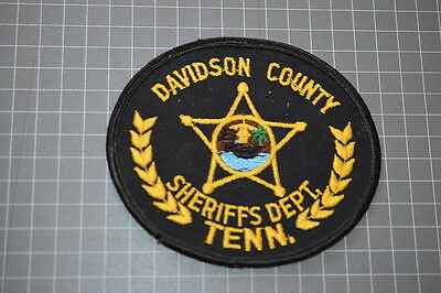 Old Davidson County Tennessee Sheriff's Department Patch (T3)