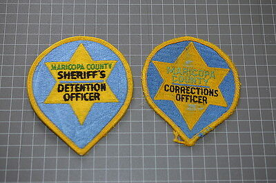 Old Maricopa County Arizona Sheriff's Detention and Corrections Patches  (T3)