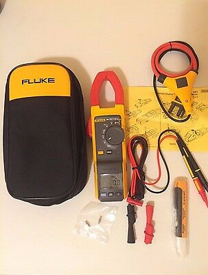 Fluke 381 Remote Display True-RMS AC/DC Clamp Meter with iFlex, SN 35880177WS