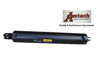 "OEM Quality 4""Bore x 24"" stroke x 32.4"" Retracted Log Splitter Cylinder,3500PSI"