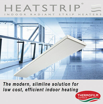 Thermofilm Australian Made Electric Radiant Indoor Strip Heater THS1800A -NEW