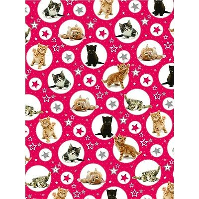 Christmas Wrap & Tags - Twinkle Kittens (6 Sheets+Tags)