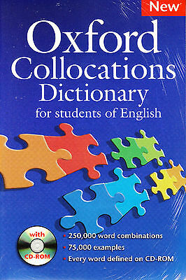 OXFORD COLLOCATIONS DICTIONARY for Students of English with CD-ROM @NEW@
