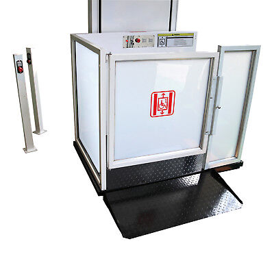 FOGO 6' Vertical Platform Wheelchair Lift, Mobility Lift, Handicapped Lift