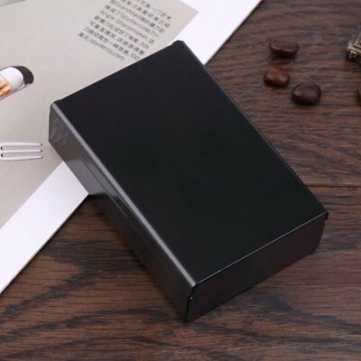 Push Open Aluminum Cigar Cigarette Tobacco Holder Pocket Storage Box Case EP