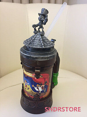 SHDR Pinocchio Water cup bottle SHANGHAI DISNEYLAND DISNEY RESORT PARK EXCLUSIVE