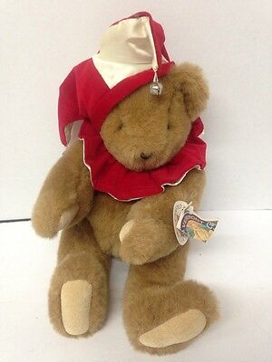 Vintage 1994 Vermont Jointed Teddy Bear Usa Made